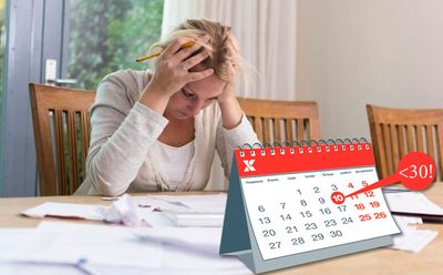 Просрочка по займу свыше 30 дней: что делать в такой ситуации